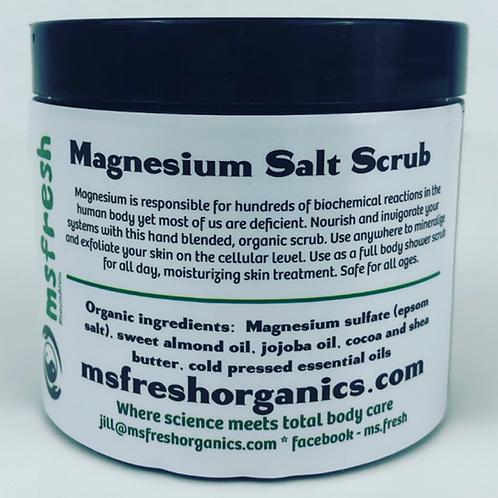 Magnesium Sea Salt Scrub (4 oz.)