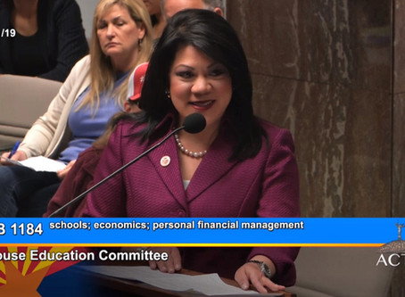 KJZZ 91.5 FM- Arizona House Education Committee Passes Financial Literacy Bill