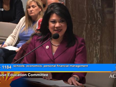 KJZZ 91.5 FM- Arizona House Education Committee Passes Financial Literacy Bill