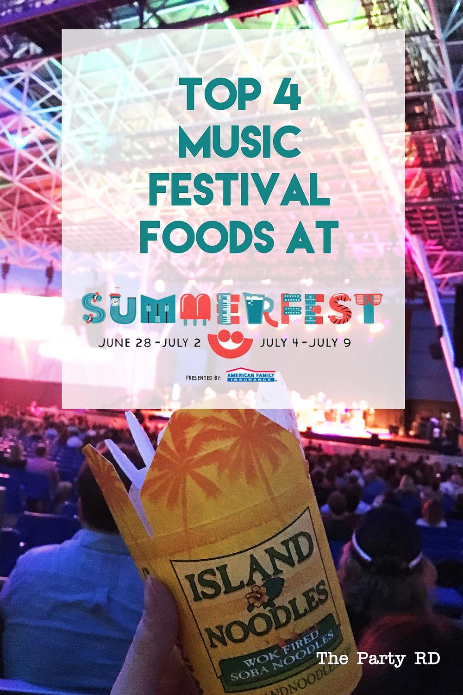Summerfest Milwaukee Best Foods
