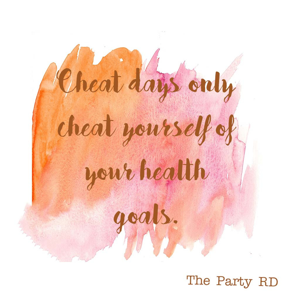 Diet cheat days cheat yourself of your health goals