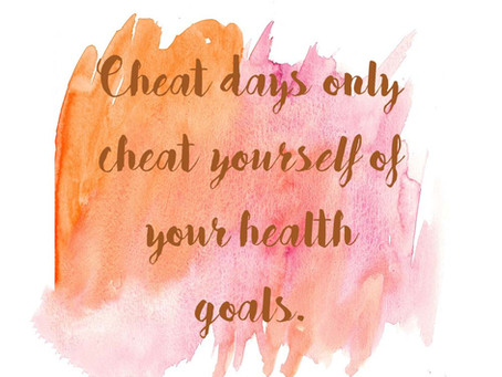 Overcoming Cheat Days
