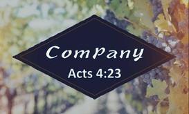 COMPANY - ACTS 4:23