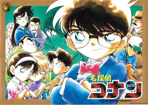 Original Detective Conan Vintage Anime Poster