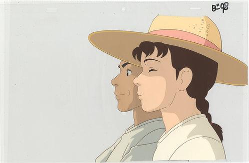 Original Only Yesterday (Studio Ghibli) Anime Cel