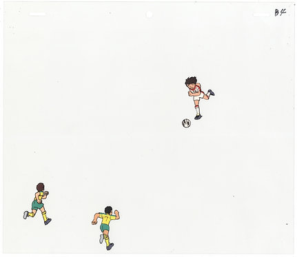 Original Captain Tsubasa Anime Production Cel
