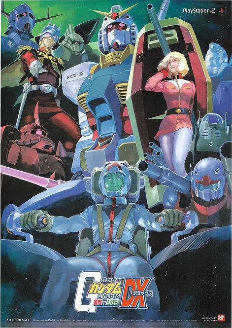 Original Mobile Suit Gundam: DX - Deluxe - Game Poster