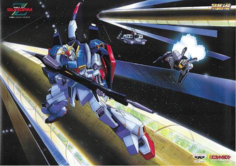 Original Mobile Suit Zeta Gundam Anime Poster