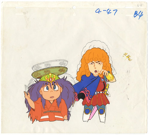 Original Bikkuriman Anime Production Cel