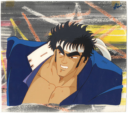 Original Sakigake!! Otokojuku Production Cel