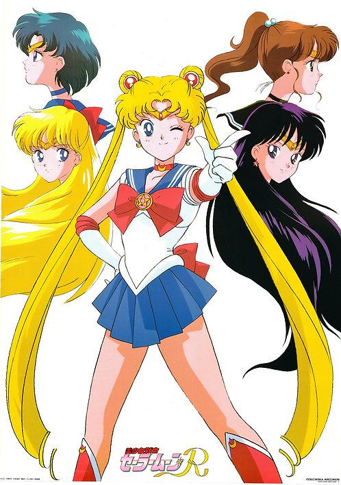 Original Sailor Moon R Anime Poster