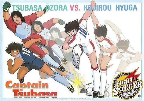 Original Captain Tsubasa Vintage Anime Poster