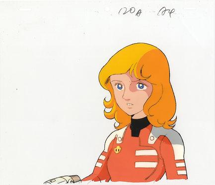 Original Captain Future Anime Production Cel - Joan Randall