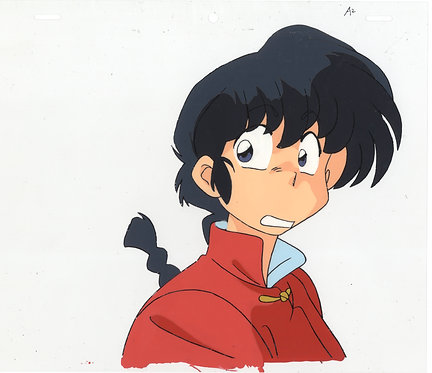 Original Ranma 1/2 Anime Production Cel - Ranma