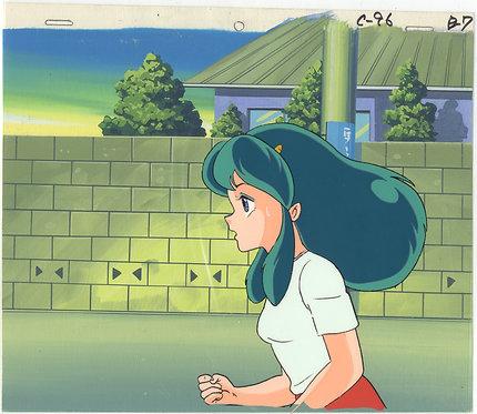 Original Urusei Yatsura Anime Production Cel - Lum