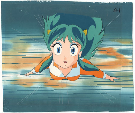 Original Urusei Yatsura Anime Production Cel