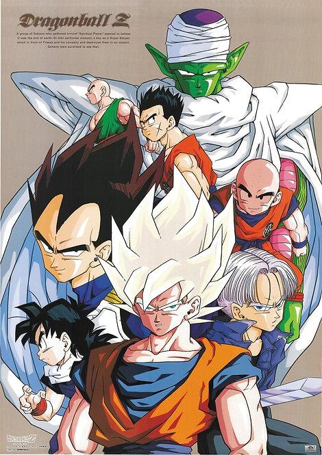 Original Vintage Dragon Ball Z Anime Poster