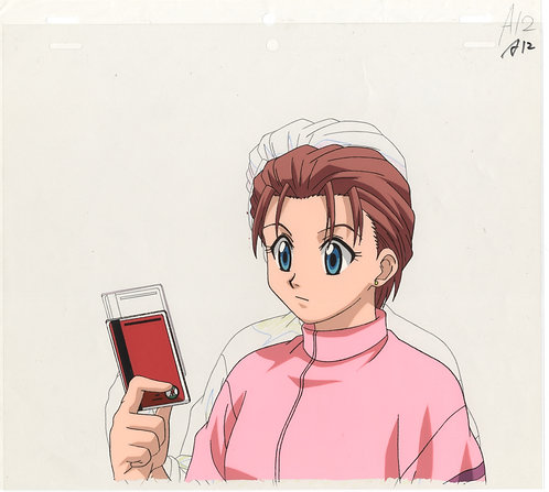 Original Hunter x Hunter Anime Production Cel - Mito Freecss