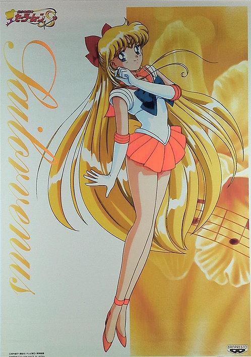 Original Sailor Moon S Anime Poster - Sailor Venus