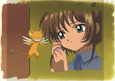 Original Cardcaptor Sakura Anime Cel