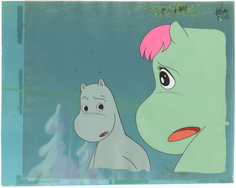 Original Moomin Anime Production Cel