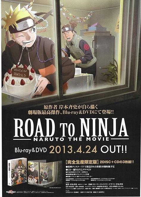 Original Road to Ninja: Naruto the Movie Anime Poster