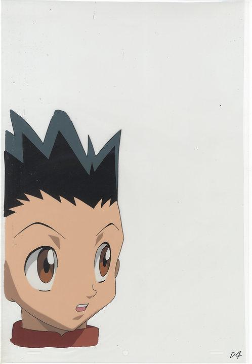 Original Hunter x Hunter Anime Production Cel - Gon