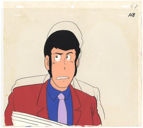 Original Lupin III Vintage Anime Cel