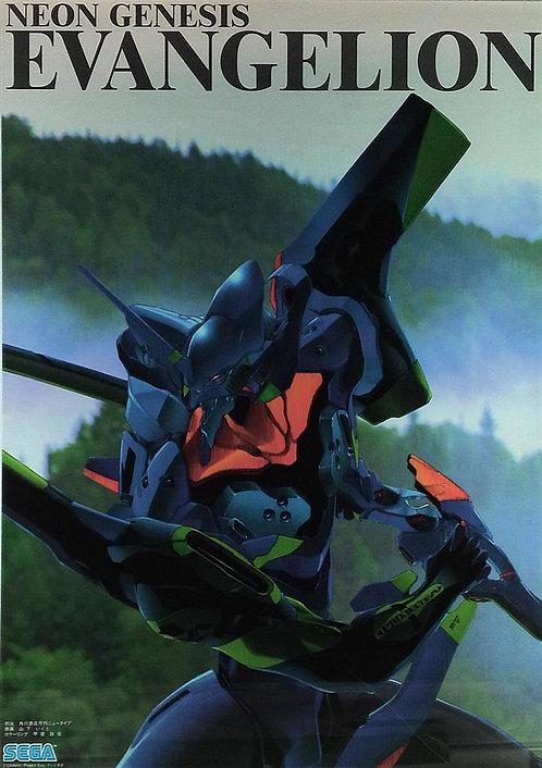 Original Neon Genesis Evangelion EVA-01 Poster