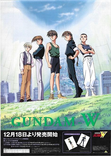 Original Mobile Suit Gundam Wing Anime Poster