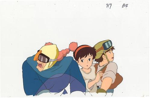 Original Laputa: Castle in the Sky Anime Production Cel