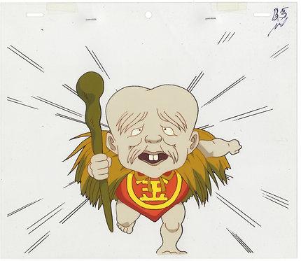 Original GeGeGe no Kitaro Anime Production Cel - Konaki-Jijii
