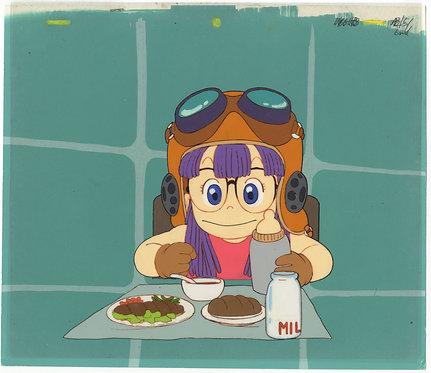 Original Dr. Slump Anime Production Cel - Arale Norimaki
