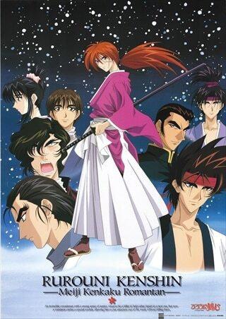 Original Rurouni Kenshin Anime Poster