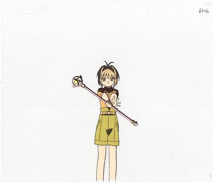 Original Cardcaptor Sakura Anime Production Cel