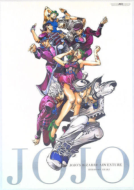 Original JoJo's Bizarre Adventure 2012 Exhibition Poster