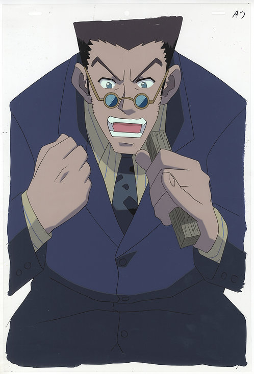 Hunter x Hunter Production 'Pan' Cel - Leorio