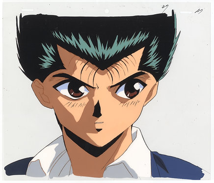Original Yu Yu Hakusho Anime Production Cel - Yusuke Urameshi