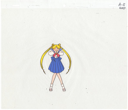 Original Sailor Moon Anime Production Cel