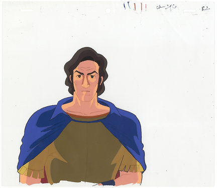 Original The Mysterious Cities of Gold Anime Production Cel
