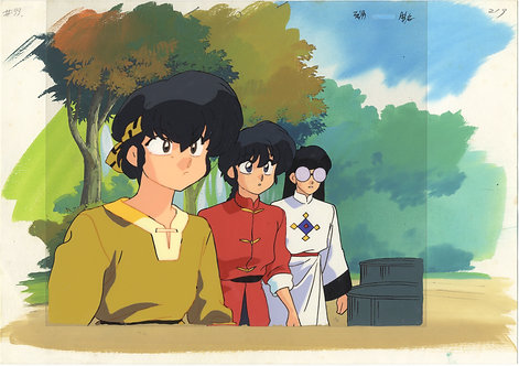Original Ranma 1/2 Anime Production Cel