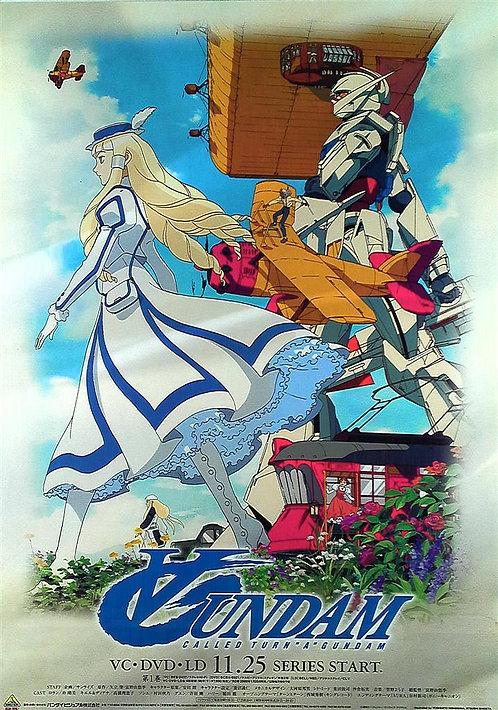 Original Turn A Gundam Vintage Anime Poster