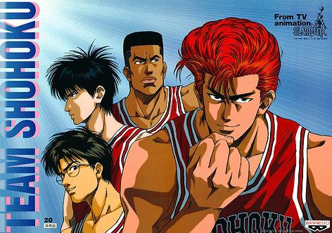 Original Slam Dunk Anime Poster