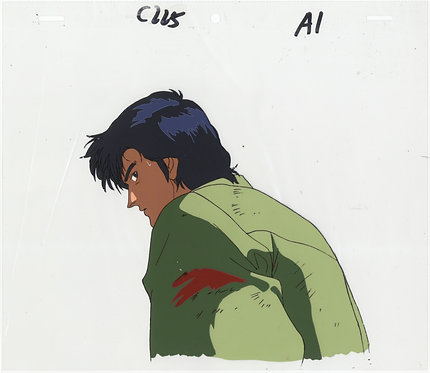 Original City Hunter Anime Production Cel