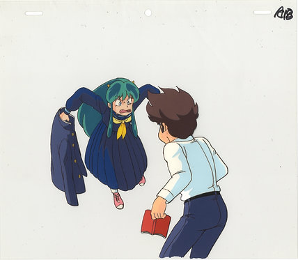 Original Urusei Yatsura Anime Production Cel