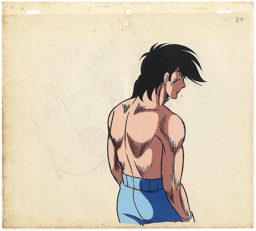 Original Ashita no Joe Anime Production Cel