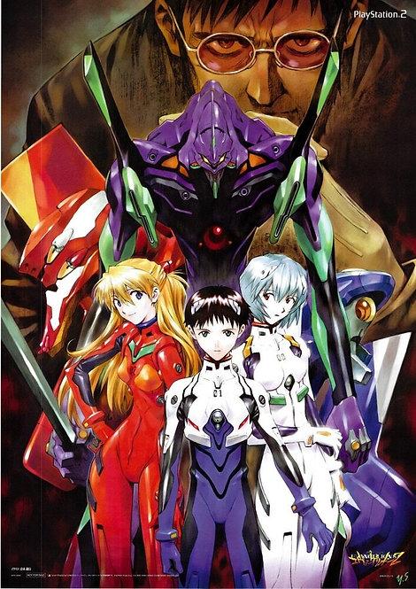 Original Neon Genesis Evangelion Poster
