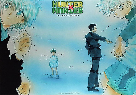 Original HUNTER x HUNTER Vintage Anime Poster