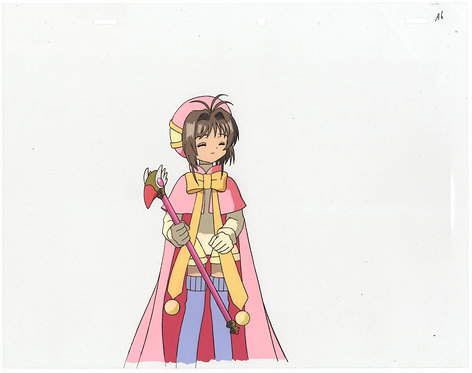 Original Cardcaptor Sakura Anime Production Cel