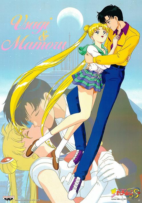 Original Sailor Moon S Anime Poster